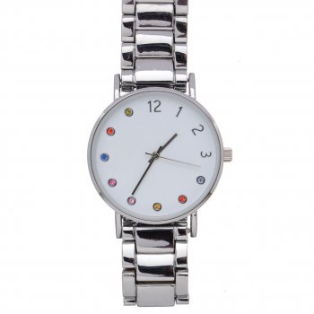 Жіночий наручний годинник EvenOdd YP5YY Silver PPU-189112
