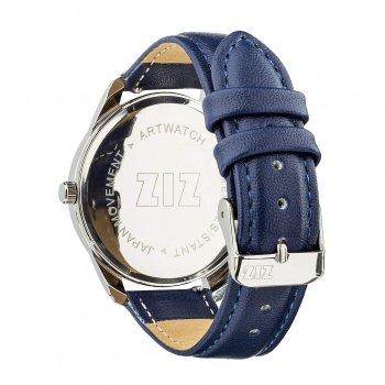Годинники наручні Ziz Мінімалізм ремінець нічна синь срібло і додатковий ремінець PPU-142864