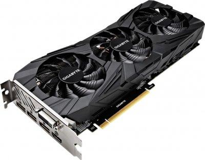 Gigabyte PCI-Ex GeForce GTX 1080 Ti Gaming OC Black 11GB GDDR5X (352bit) (1518/11010) (DVI, HDMI, 3 x DisplayPort) (GV-N108TGAMINGOC BLACK-11GD)