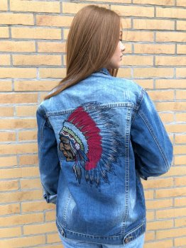 Жіноча джинсова куртка Cherokee Light Blue