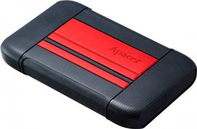 "Жорсткий диск Apacer AC633 2TB 5400rpm 8MB AP2TBAC633R-1 2.5"" USB 3.1 Power Red"