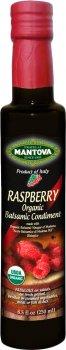 Уксус бальзамический Fratelli Mantova Raspberry Organic из Модены 250 мл (48176660314_394726)