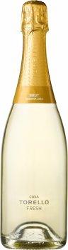 Вино игристое Torelló Fresh Brut Reserva Ecologico белое брют 0.75 л 11.5% (8424518900836)