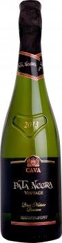 Вино белое игристое брют натур Jaume Serra Pata Negra Brut Nature Reserva 0.75 л 11.5% (8410261114040)