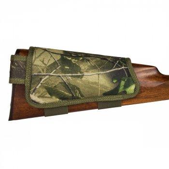 Патронташ на Приклад з Поліестеру Bronzedog Лівша 6 патронів калібр Зелений 12/16 (8106)