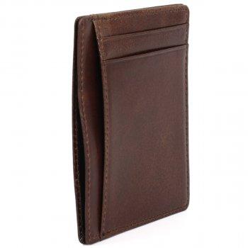 Картхолдер кожаный Traum 7111-62 Тёмно-коричневый (4820007111624)