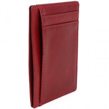 Картхолдер кожаный Traum 7111-61 Красный (4820007111617)
