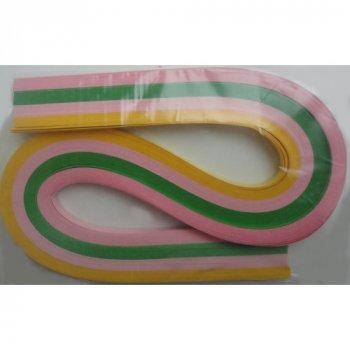 Набір смужок паперу для квілінгу 1 Вересня № К10 100 шт. (КВ-10)