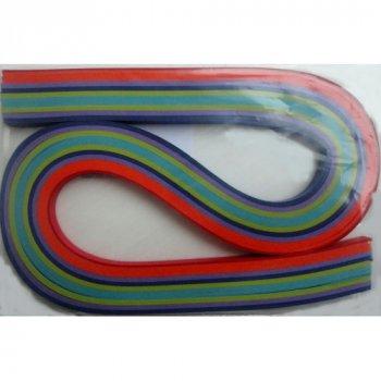 Набір смужок паперу для квілінгу 1 Вересня № К1 100 шт. (КВ-01)