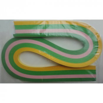 Набір смужок паперу для квілінгу 1 Вересня № К9 100 шт. (КВ-09)