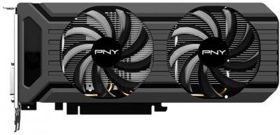 PNY PCI-Ex GeForce GTX 1060 3GB GDDR5 (192bit) (1506/8000) (DVI, HDMI, 3 x DisplayPort) (VCGGTX10603PB)