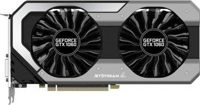 Palit PCI-Ex GeForce GTX 1060 Jetstream 3GB GDDR5 (192bit) (1506/8000) (DVI, HDMI, 3 x DisplayPort) (NE51060015F9-1060J)