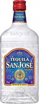 Текила San Jose Silver 0.7 л 35% (3107872600394)