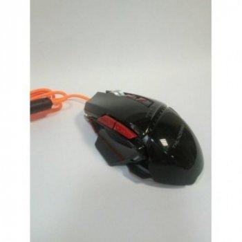 Компьютерная игровая мышь Zornwee GX10 с подсветкой Чёрный