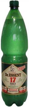 Упаковка минеральной природной питьевой лечебно-столовой газированной воды Dr.Essent Нагутская-17 1.5 л х 6 шт (4640017371678)
