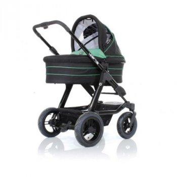 Універсальна коляска 2 в 1 ABC design VIPER 4S зелений з чорним (61099/316)