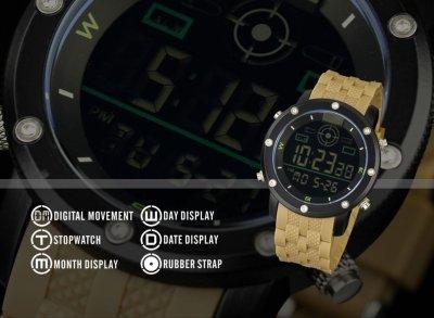 Чоловічі електронні годинники Infantry Bullet