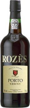 Портвейн Rozes Tawny червоне кріплене 0.75 л 20% (5601144111017)