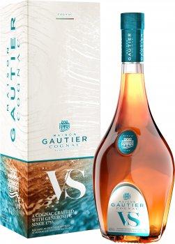 Коньяк Gautier VS 0.7 л 40% в подарочной упаковке (3269552442769)