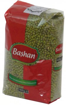 Маш Bashan Зеленая фасоль 900 г (8697686879079)