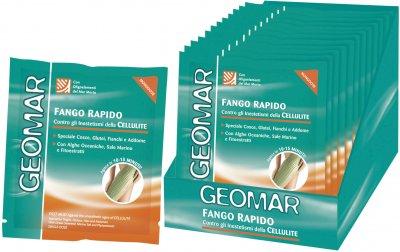Средство Geomar Body грязевое антицеллюлитное быстрого действия с Океаническими водорослями и Морскою солью 80 мл (8003510017461)