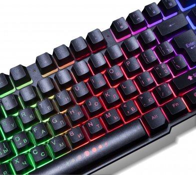 Клавіатура дротова Frime Firefly USB (FLK18100)