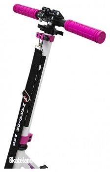 Двоколісний Самокат Maraton Pro 2020 Whie-Hot Pink (біло-малиновий)