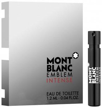 Пробник Туалетная вода для мужчин Mont Blanc Emblem Intence Men 1.2 мл (3386460067744)