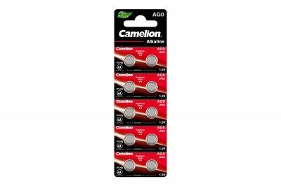 Батарейки Camelion AG 0 LR521 10 шт (AG0-BP10)