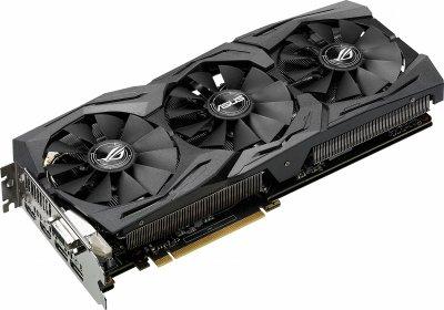 Asus PCI-Ex GeForce GTX 1080 ROG Strix 8GB GDDR5X (256bit) (1607/10010) (DVI, 2 x HDMI, 2 x DisplayPort) (STRIX-GTX1080-8G)