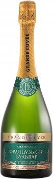 Вино ігристе Французький бульвар Grande cuvee напівсолодке біле 0.75 л 10.5-12.5% (4820004380283)