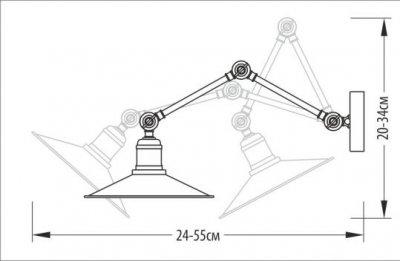 Бра Pikart 768-1