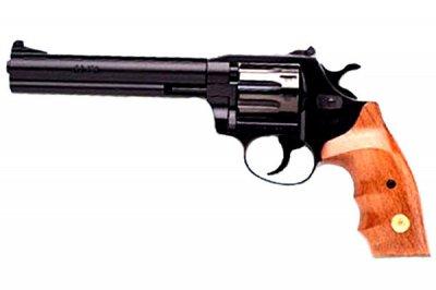 Револьвер під патрон Флобера ALFA model 461 (чорний, дерево)