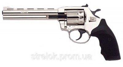 Револьвер під патрон Флобера ALFA model 461 (нікель, пластик)