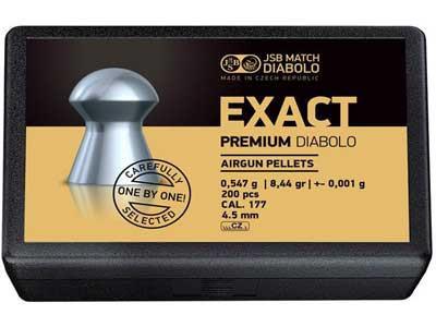Кулі для пневматичної зброї JSB Exact Premium 4,52 мм
