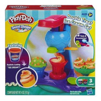Набор пластилина Play-Doh Сладкая фабрика мороженого Hasbro