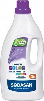 Органічний рідкий засіб для прання Sodasan Color Lavender 1.5 л (4019886015097)