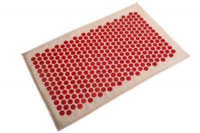 Масажний килимок (аплікатор Кузнєцова) Lounge Maxi 80*50 см Червоний