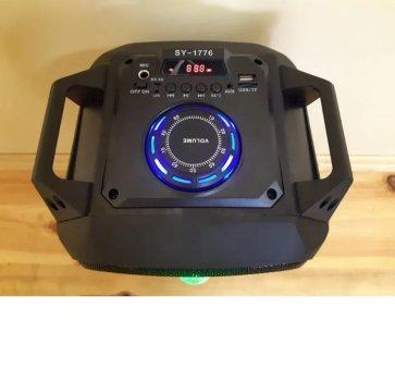 Портативна колонка з мікрофоном SY-1776 60W Bluetooth, AUX USB FM Rainberg