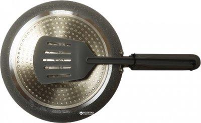 Сковорода для блинов Maestro Rainbow Granite с лопаткой 25 см (MR1212-25)