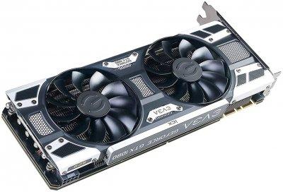 EVGA PCI-Ex GeForce GTX 1080 SC2 Gaming 8GB GDDR5X (256bit) (1708/11016) (DVI, HDMI, 3 x DisplayPort) (08G-P4-6585-KR)