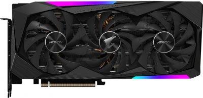 Gigabyte PCI-Ex GeForce RTX 3070 Aorus Master 8 GB GDDR6 (256 bit) (1725/14000) (3 х HDMI, 3 x DisplayPort) (GV-N3070AORUS M-8GD)