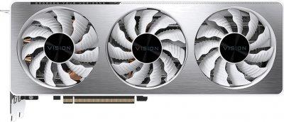 Gigabyte PCI-Ex GeForce RTX 3070 Vision OC 8 GB GDDR6 (256 bit) (1725/14000) (2 х HDMI, 2 x DisplayPort) (GV-N3070VISION OC-8GD)
