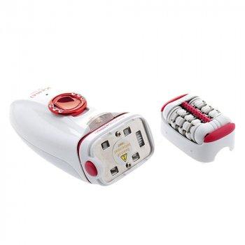 Электрический эпилятор Kemei KM-2666 Красный