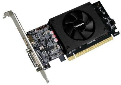 Відеокарта GigaByte GeForce GT 710 1GB GDDR5 64bit Low Profile