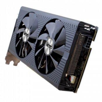 Видеокарта Sapphire Radeon Pci-Ex Nitro + Rx 470 8G 256Bit Gddr5 (1121/2000) (Dvi, 2 X Hdmi, 2 X Displayport) (11256-02-20G)