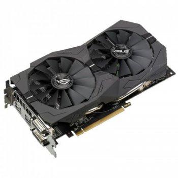 Відеокарта Asus Radeon Pci-Ex Rx 570 Rog Strix 4Gb Gddr5 256Bit (1244/7000) (2 X Dvi, Hdmi, Displayport) (Rog-Strix-Rx570-4G-Gaming)