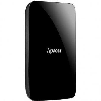 """Зовнішній жорсткий диск 2.5"""" 1TB Apacer (AP1TBAC233B-S)"""