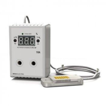 Регулятор-цифровий вимірювач вологості в розетку Deus Electro РВ-10Р з датчиком AM2302