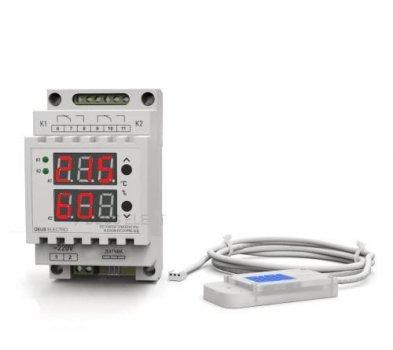 Регулятор температури і вологості для інкубатора Deus Electro РТВ-15Д на 3,3 кВт